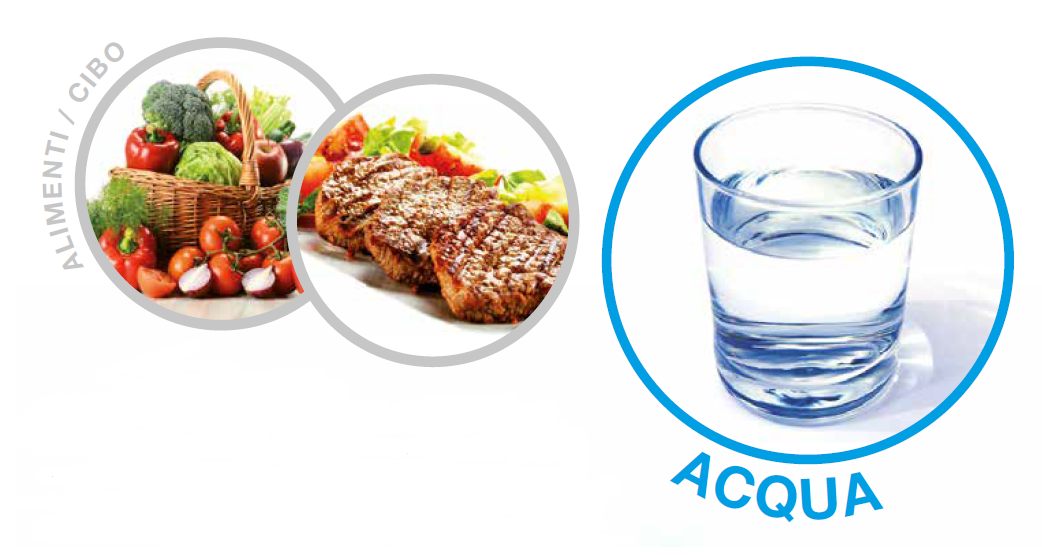 acqua alimento